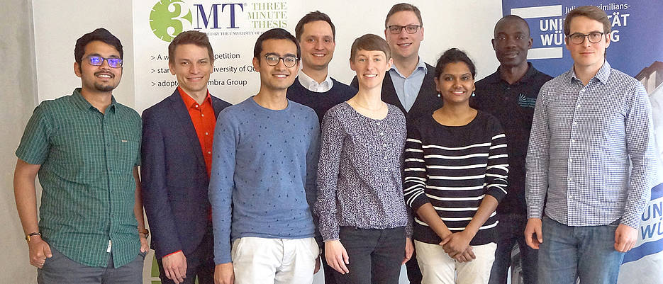 Participants of the 3MT competition